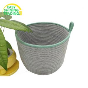 cotton rope storage containers