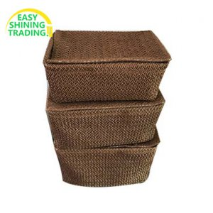 paper straw storage basket