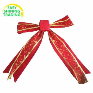 Outdoor Christmas Red bows