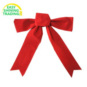 Christmas wreath bows