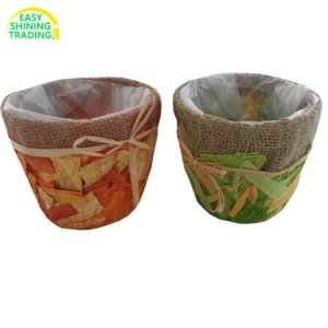 Jute Flower Pot Cover