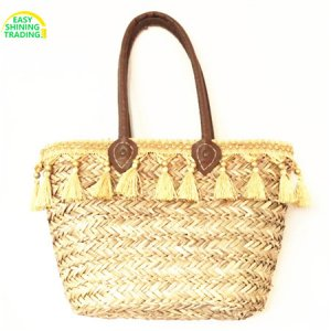 seagrass summer handbag