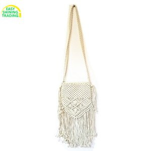 cotton rope knitted bag