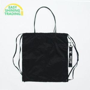black nylon backpack ESBB015