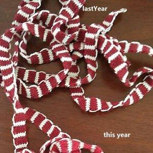 Crochet Scarf Ribbon