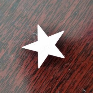 Star Shape wood decoration