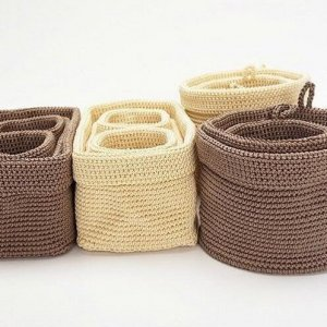 knitting storage basket