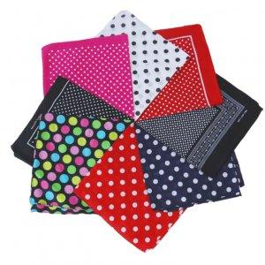 cotton bandana dot pattern