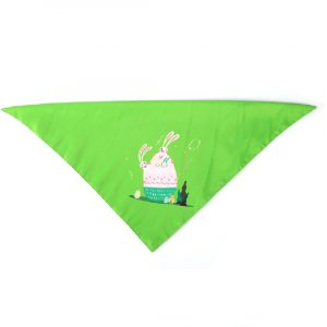 Easter dog triangle bandana ESBDA077