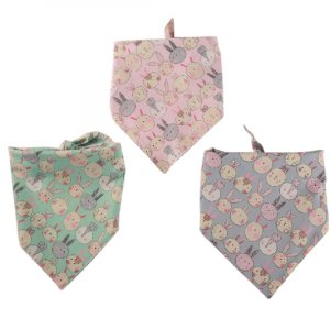 Easter rabbit Printing pet bandana ESBDA076