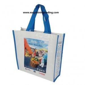 hotselling PE woven shopping bag