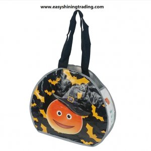 Halloween PP woven shopper bag