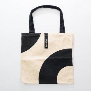 8OZ cotton canvas bag with black handle