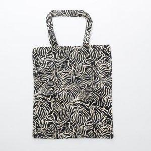ZEBRA pattern printing TC bag