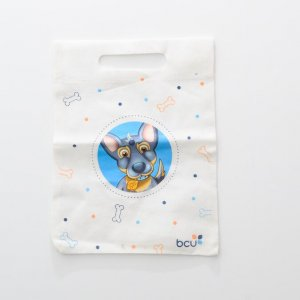 non woven bag with heat transfer printing