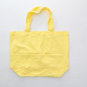 Dye yellow cotton bag