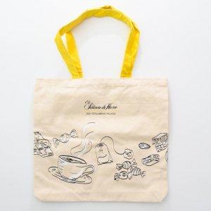 10OZ canvas bag with yellow handle