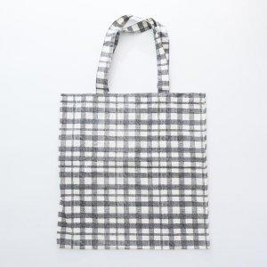 TC bag with plaid pattern