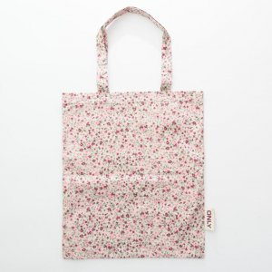 Spring printing TC shopping bag