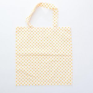 TC bag with dots pattern