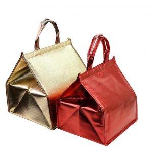 Non woven metallic cooler bag