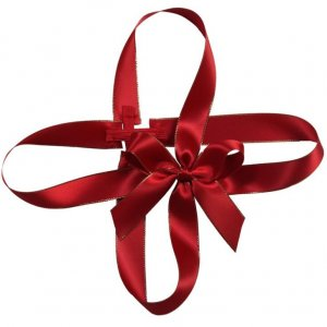 Red Bow for gift Box