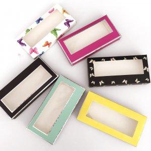 Eyelash packing box