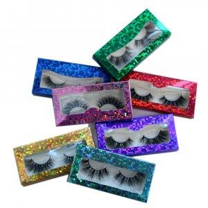 Eyelash paper box