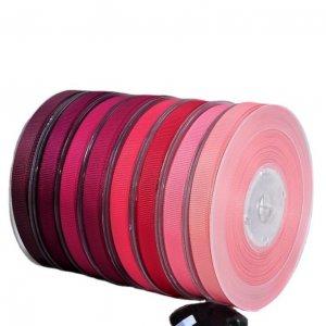 Red Ribbed Ribbon