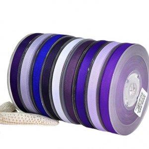 Purple Ribbed Ribbon