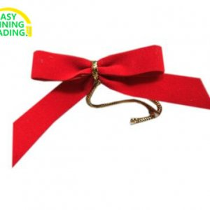 Small red bow